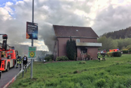 Extertal-Kükenbruch: Eine Person bei Wohnungsbrand verstorben