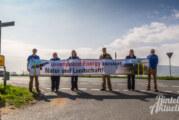 """NABU Rinteln protestiert gegen Windräder, an denen """"das Blut afrikanischer Elefanten klebt"""""""