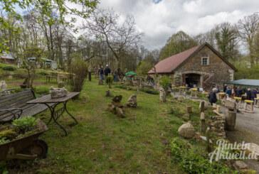 27. und 28. April: Frühlingsfest im Steingarten an der Paschenburg