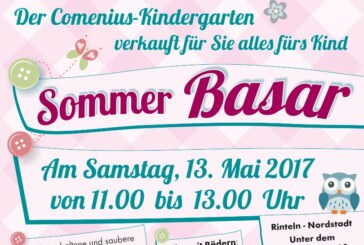 Sommer-Basar im Comenius-Kindergarten