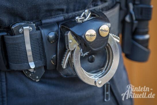 Von Amtsgericht Rinteln gesucht: Polizei verhaftet 38-Jährigen in Espelkamp