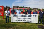Himmelfahrt 2017: Feuerwehr Wennenkamp lädt ein zu Vatertagsparty am Feuerwehrhaus