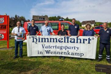 Feuerwehr Wennenkamp lädt ein zur Vatertagsparty am Taubenberg