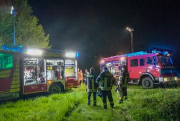 Hochsitz angezündet, Kinofassade besprüht: Meldungen aus dem Polizeibericht