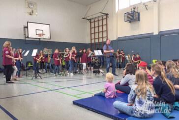 Junge Musiker auf Tour