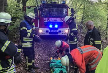 Möllenbeck: Alarmübung im Trinkwasser-Hochbehälter