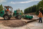 """""""Gerade bauen kann jeder, Kreuzungen sind eine Kunst"""": HighTech-Beton kommt nach Steinbergen"""