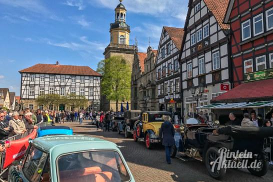 23. Oldtimer Weserberglandfahrt mit Start und Ziel in Rinteln