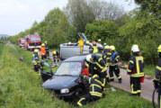 """Genau im Zeitrahmen: Zugübung """"Verkehrsunfall"""" der Feuerwehr Bückeburg"""