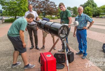 Griff nach den Sternen: Lions Club ermöglicht Kauf eines Spiegelteleskops fürs Gymnasium
