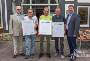 90 Jahre im Betrieb: Steding Bauunternehmen ehrt langjährige Mitarbeiter