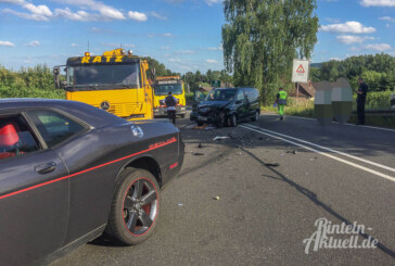 Steinbergen: Unfall beim Überholvorgang