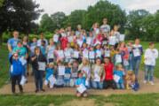 63 Schwimmer bei Vereinsmeisterschaften der DLRG Ortsgruppe Rinteln am Start