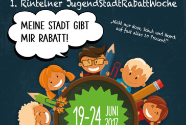 1. Rintelner JugendStadtRabattWoche: Deine Stadt gibt Dir Rabatt