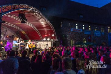Musik und eine laue Sommernacht: So wars beim 20. Irish-Folk Festival im Kloster Möllenbeck