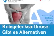 Kniegelenksarthrose: Muss es eine Prothese sein? Oder gibt es Alternativen?