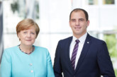 Bundeskanzlerin Angela Merkel besucht die Region
