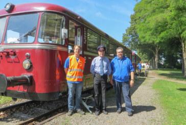 Historischer Schienenbus nimmt wieder Fahrt auf