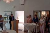 """Farbenfrohes zwischen Amtsstuben: Ausstellung """"Intermezzo"""" in der Rathausgalerie eröffnet"""