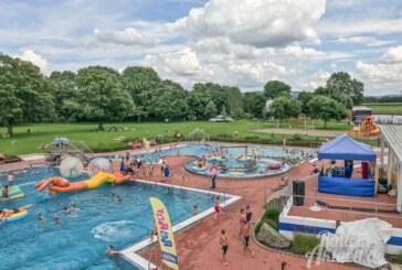Willkommene Abkühlung: Große Poolparty von Sparkasse, KNAX und S-Club im Freibad Rinteln