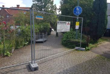 Exten bekommt neue Fußgängerbrücke