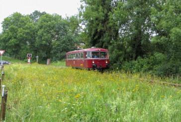 Mit dem Schienenbus von Rinteln nach Stadthagen unterwegs