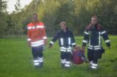 Feuerwehrübung: Grillunfall an Deckberger Kiesteichen endet mit Personensuche
