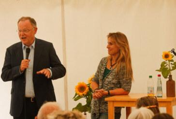 Auf Einladung der Grünen: Katja Keul am Kirchplatz