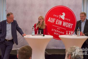 Ministerpräsident Stephan Weil zu Gast im Stadtkater