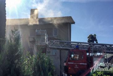 Brand in Uchtdorf: Großeinsatz für Feuerwehren