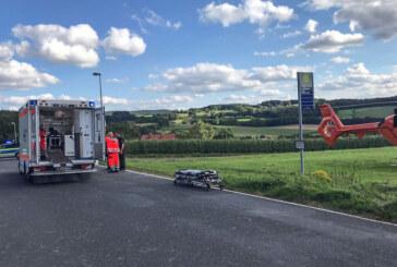 Zwei Motorradunfälle am Taubenberg: Mehrere Menschen verletzt