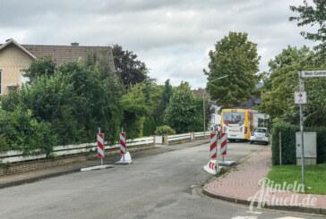Die Drift: Ausbau der Straße erst 2018