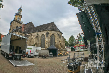 Altstadtfest Rinteln: Aufbau läuft auf Hochtouren