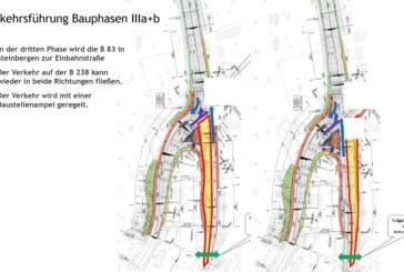 Baustelle Steinbergen: 3. Bauphase startet am Montag / Neue Verkehrsführung