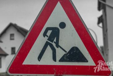 Vollsperrung: Bauarbeiten in der Burgfeldsweide