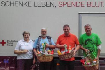 138 Blutspender beim Aderlass / Sonderspende am 20.9. bei Marktkauf Rinteln