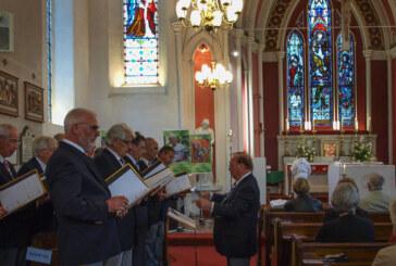 Qualität trifft auf Vielfalt: VCR-Männerchor und K Shoes Choir begeistern mit Jubiläumskonzert in Kendal