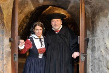 """""""Bei Martin zu Tisch"""": Abschluss des Reformationsjubiläums im Brückentorsaal"""