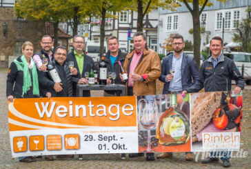 Rintelner Weintage 2017: Drei Tage Gastro-Event mit verkaufsoffenem Sonntag