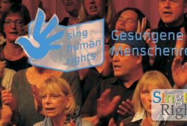 Gesungene Menschenrechte: Smile Projekt Chor und das Gymnasium Ernestinum gehen außergewöhnliche Wege.