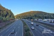 Zu wenig Abstand, zu schnell: Polizei kontrolliert Dutzende LKW und PKW auf A2