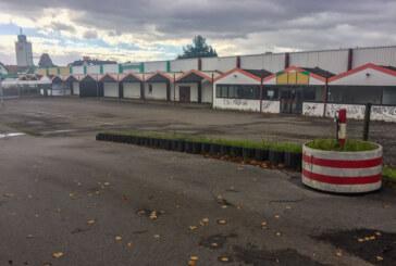 Versuchter Einbruch in ehemaliges Marktkauf Baumarkt-Gebäude