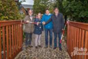 Exten: Neue Fußgängerbrücke offiziell freigegeben