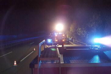 Tragisches Unglück auf A2: 19-jähriger Rintelner stirbt bei Sturz von Autobahnbrücke