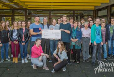 Laufen und feiern für den guten Zweck: Gymnasium Ernestinum sammelt 12.000 Euro für Unicef