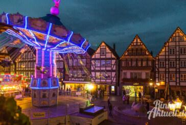 625 Jahre Kirmestrubel: Rintelner Herbstmesse vom 3. bis 6. November