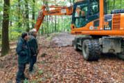 2,5 Kilometer Waldwege runderneuert