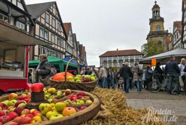 Am 20. Oktober: Rintelner Apfelmarkt rund um die beliebte Frucht