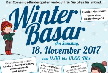 Winter-Basar im Comenius-Kindergarten