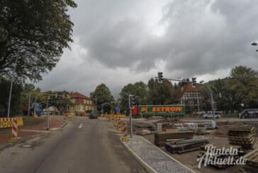 Damit es besser fließt: Änderungen an Ampel und Verkehrsführung in Steinbergen